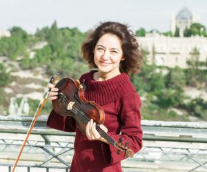 Aliza Keren Violinist, composer, teacher, producer